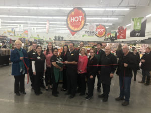 (AUDIO) Dollar Fresh Ribbon Cutting and opening of store held Tuesday