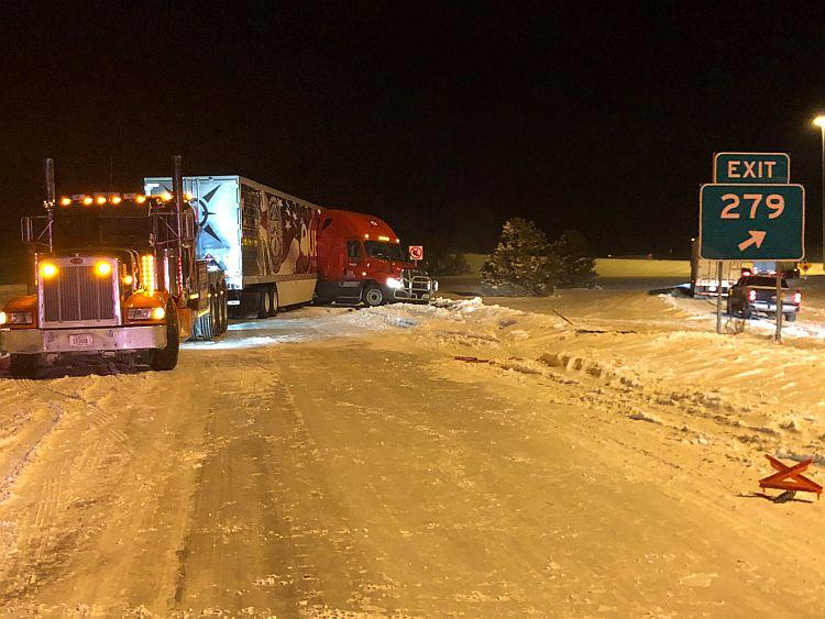 UPDATE: I-80 closures as of 1:00pm Monday
