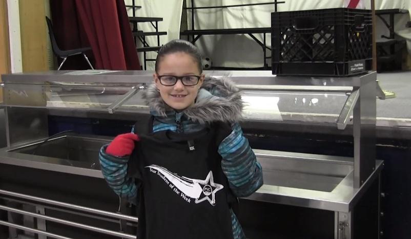 Roosevelt 3rd Grader Gabriela Duarte Named PVC Star Student of the Week