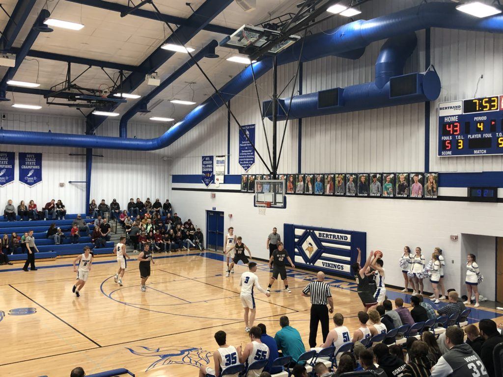 (Audio) Overton Wins Double-Header Matchup in Bertrand