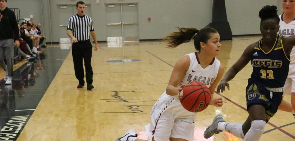 Late free throws push Chadron State past Regis