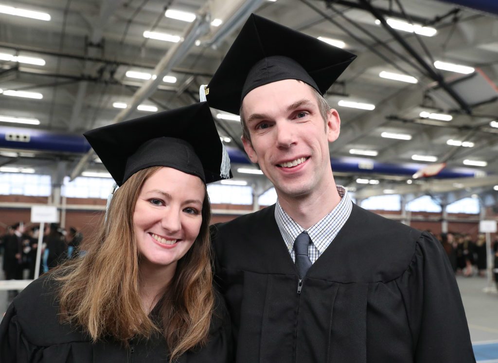 Loper Love Story: Kluevers Earn Master's Degrees Together