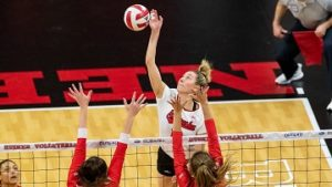 Huskers sweep Ball State in opening round of NCAA Tournament