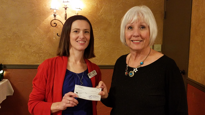 Panhandle BPW Donates to DOVES for 8th Year in a Row
