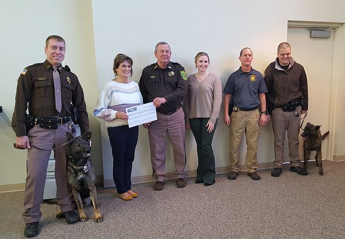 (Audio) DCSO K-9 Unit benefits from local fundraising effort