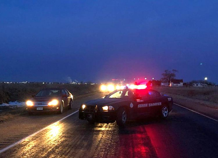 Traffic accident under investigation east of Lexington