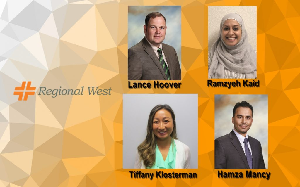 Three Physicians and One Advanced Practice Clinician Join Regional West Medical Staff