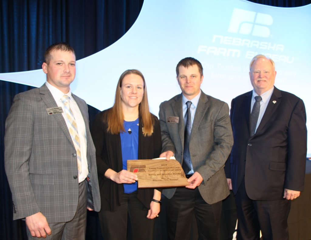 Randy and BrenDee Reinke Take Home Nebraska Farm Bureau's  Excellence in Agriculture Award
