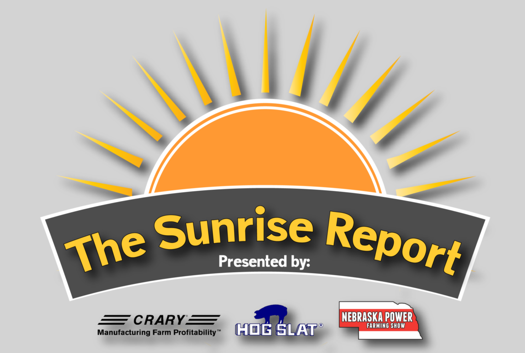 The Sunrise Report – LIVE from the Nebraska Power Farming Show