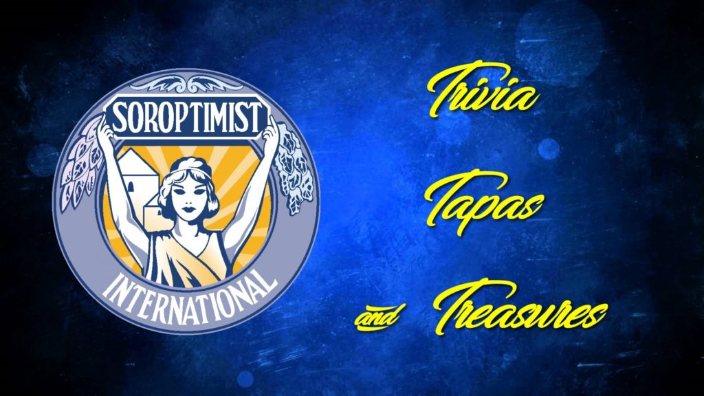 Soroptimist of Scotts Bluff County to host Trivia, Tapas, and Treasures