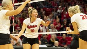 Four Huskers chosen to AVCA All-North Region Team