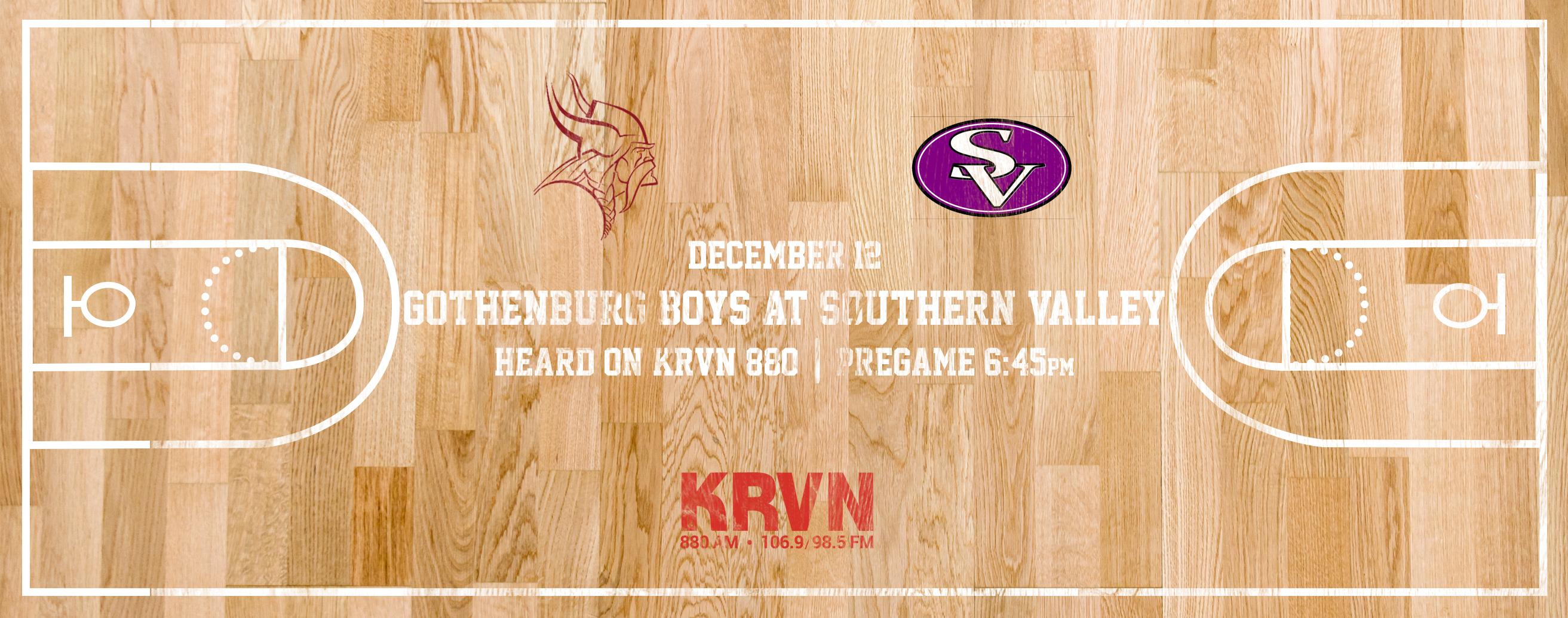 HS Basketball: KRVN AM Boys