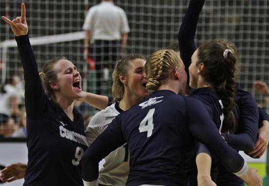 (Audio) Five-set battle with Wildcats sends Bulldogs through to bracket play
