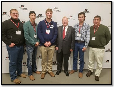 Collegiate Farm Bureau at 2019 conference