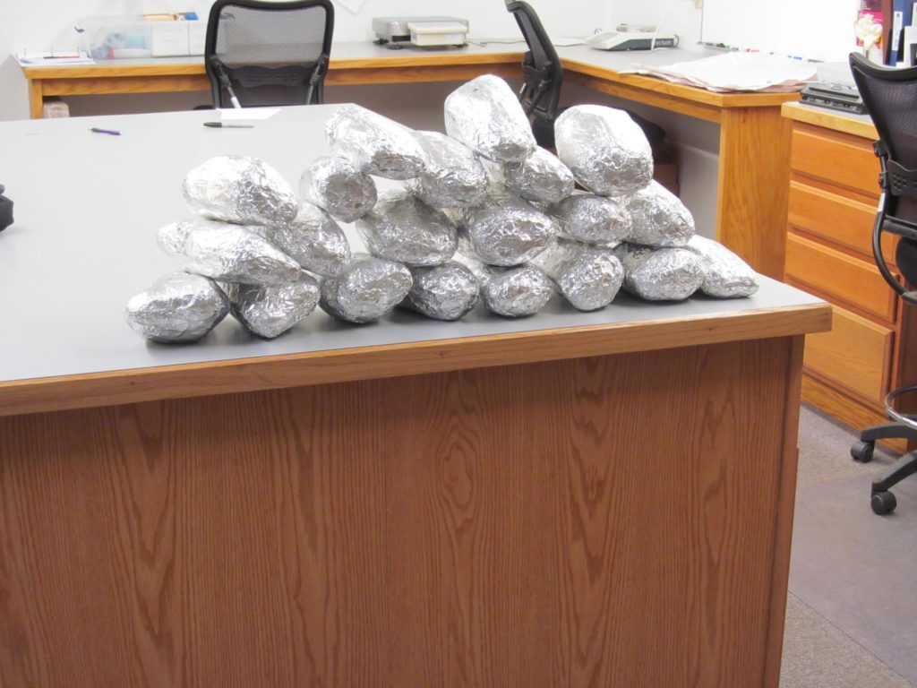 Sheriff seizes 27 Pounds of Crystal Methamphetamine Intended  Delivery Location Omaha, NE