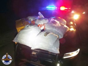 Four Arrested Tuesday Night During Three I-80 Traffic Stops