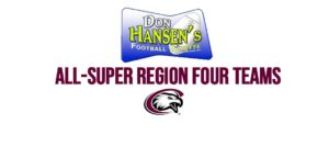 Five named to Don Hansen All-Region teams