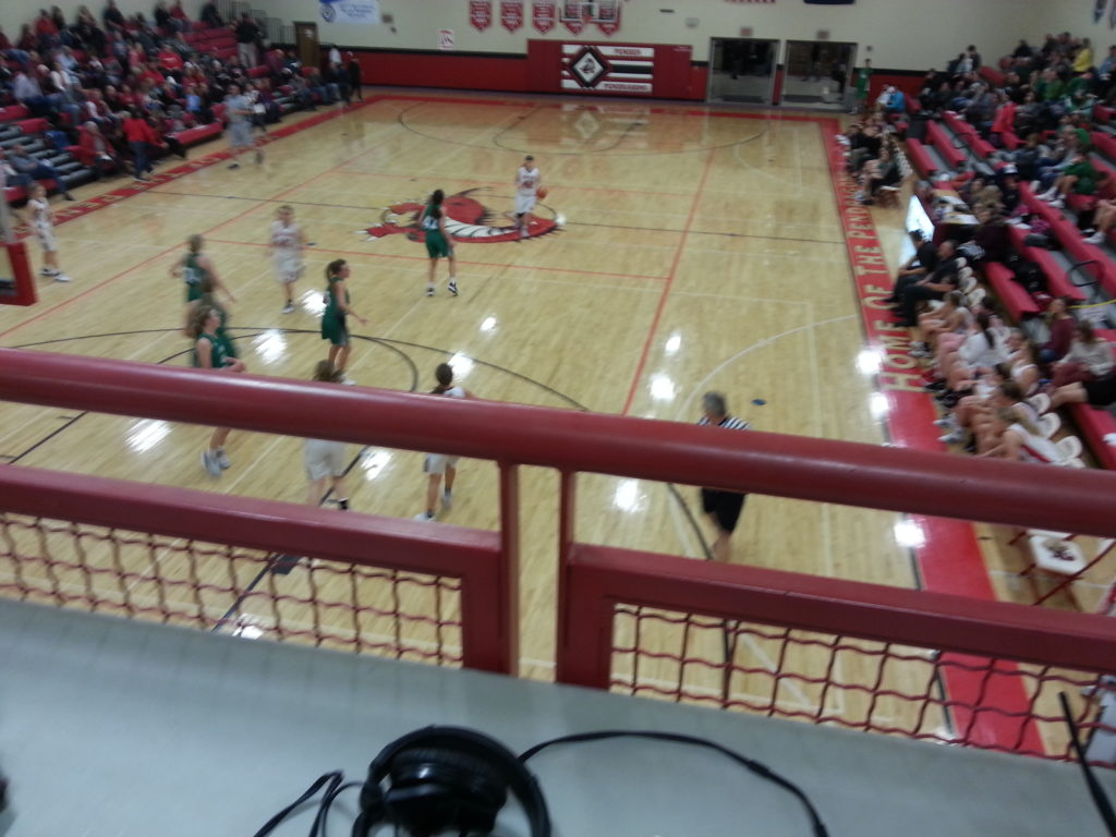 (AUDIO) Wisner-Pilger and Pender Basketball Teams split Doubleheader on the Bull
