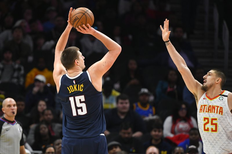 Nuggets beat Hawks behind Jokic's career-high 47 points