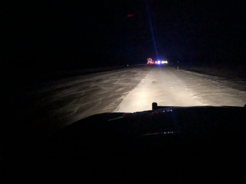 Winter Storm Blamed For At Least One Nebraska Crash Fatality