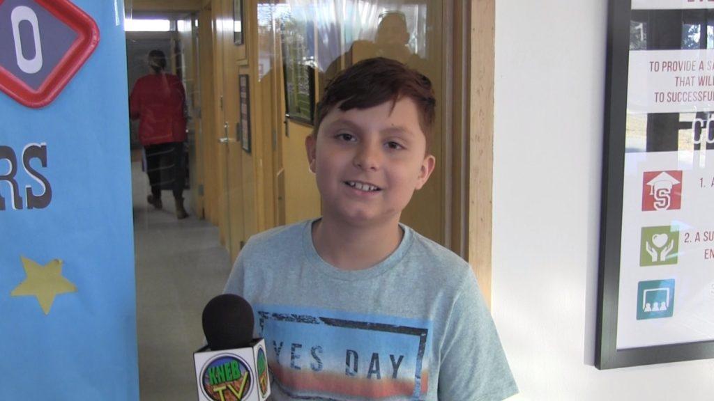Westmoor 5th Grader Abram Longoria Named PVC Star Student of the Week