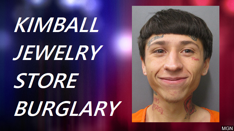 One in Custody in Wednesday Night Jewelry Store Burglary in Kimball