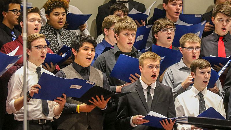 UNK Honor Band, Choral Clinic features 760 high schoolers