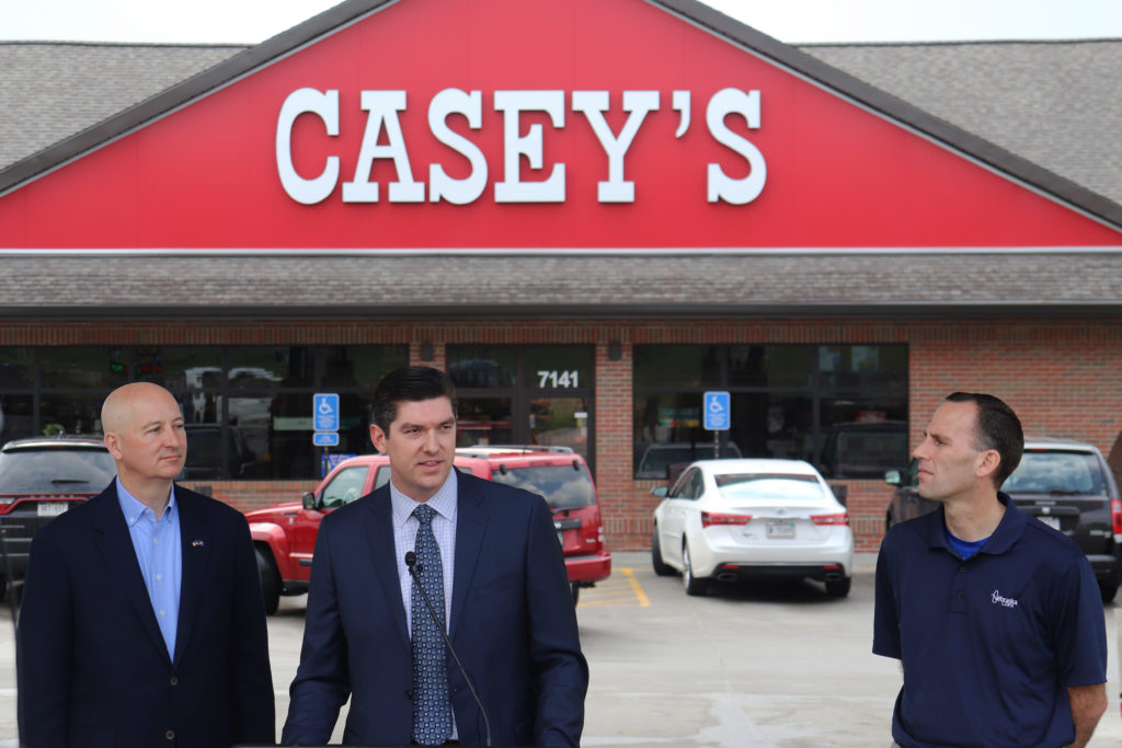 Nebraska Corn Board Partners with Casey's to Offer Higher Ethanol Blends