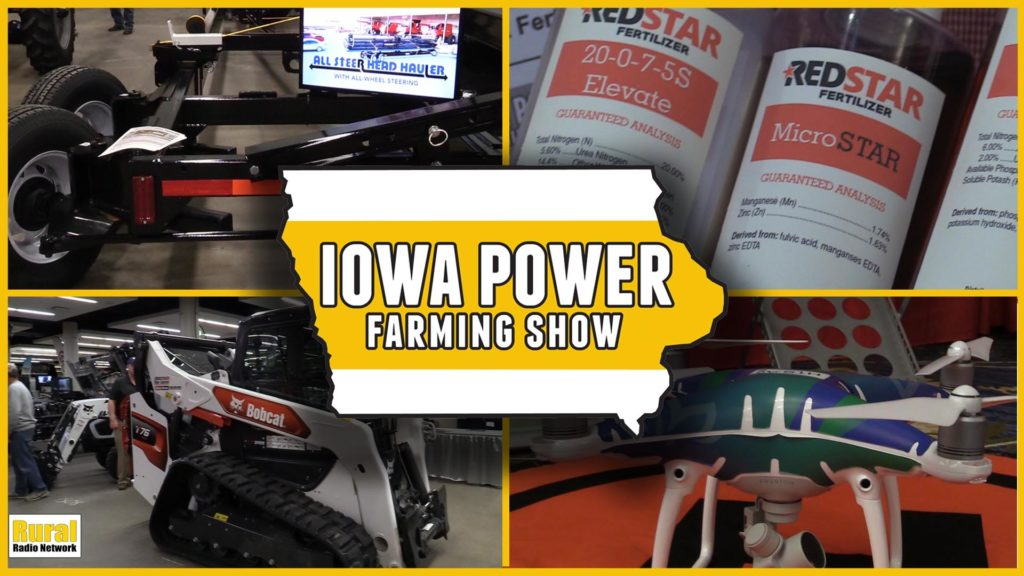 VIDEO: Iowa Power Farming Show wraps up in Des Moines