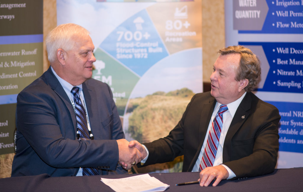 NRDs Sign Agreement with NRCS to Continue Conservation Efforts
