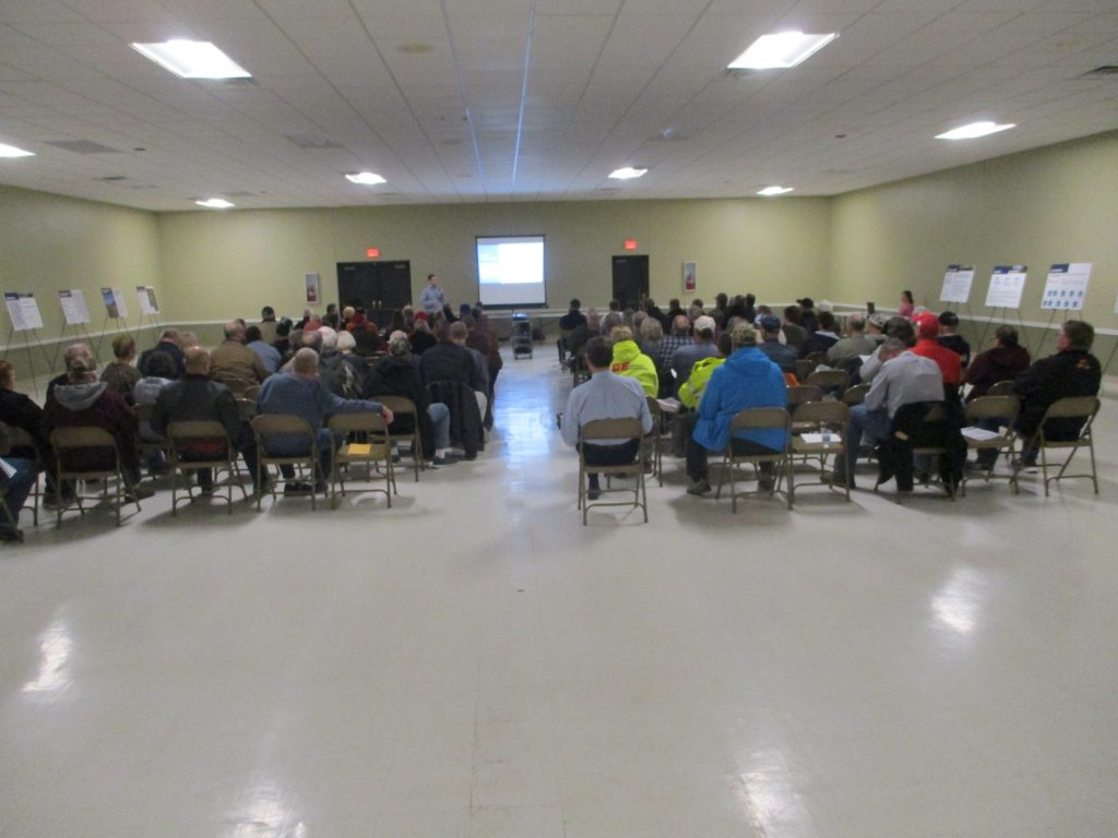 (AUDIO) Officials and local citizens gather in Scribner for Highway 275 Expressway Project Meeting