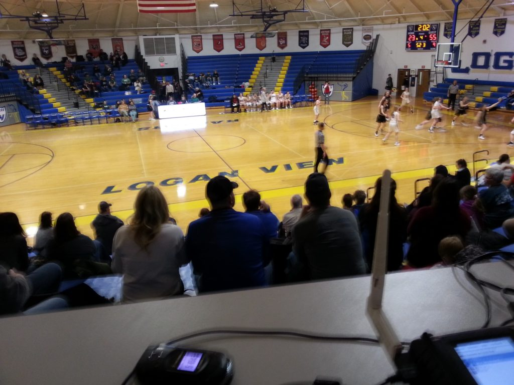 (AUDIO) Howells-Dodge and Logan View/Scribner-Snyder split Basketball Doubleheader on the Bull