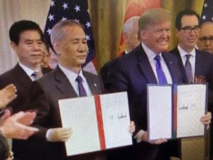 Reaction to The Phase-One Agreement with China