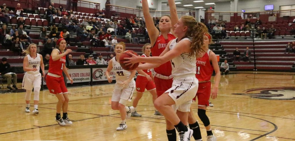 Late rally for CSC women in loss to Trailblazers