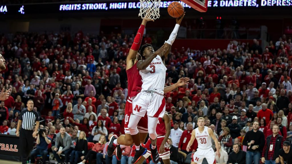 Huskers host Michigan Tuesday night