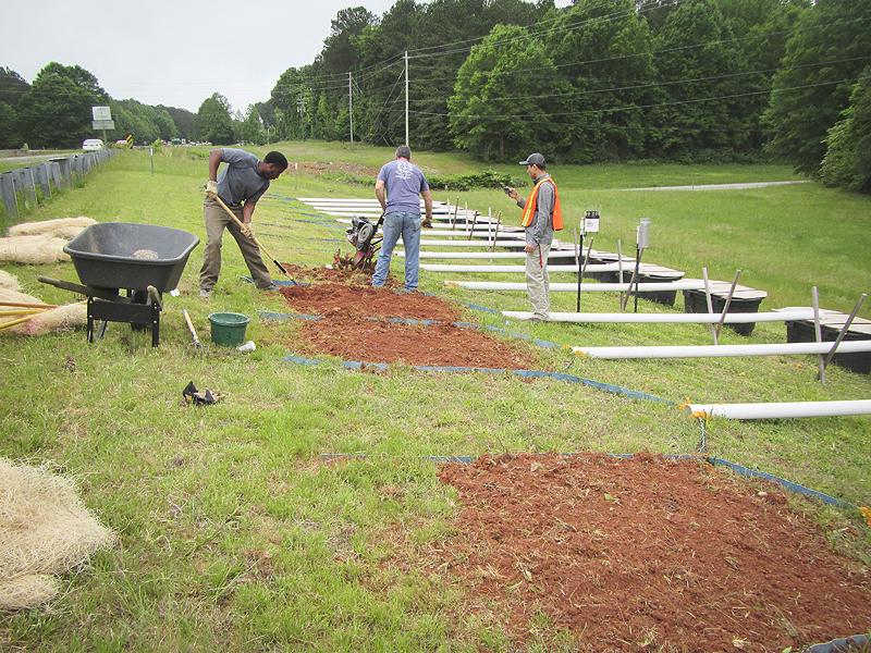 Helping roadside soils bounce back after construction