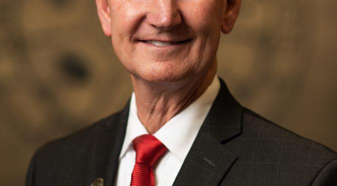 NU President Walter Ted Carter, courtesy - University of Nebraska