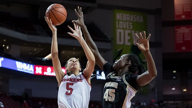 VIDEO: Husker Women lose at home to Purdue