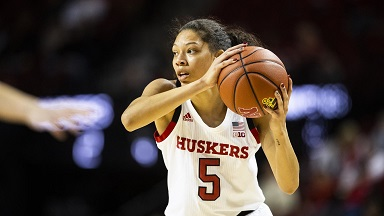 Husker Women lose at Maryland