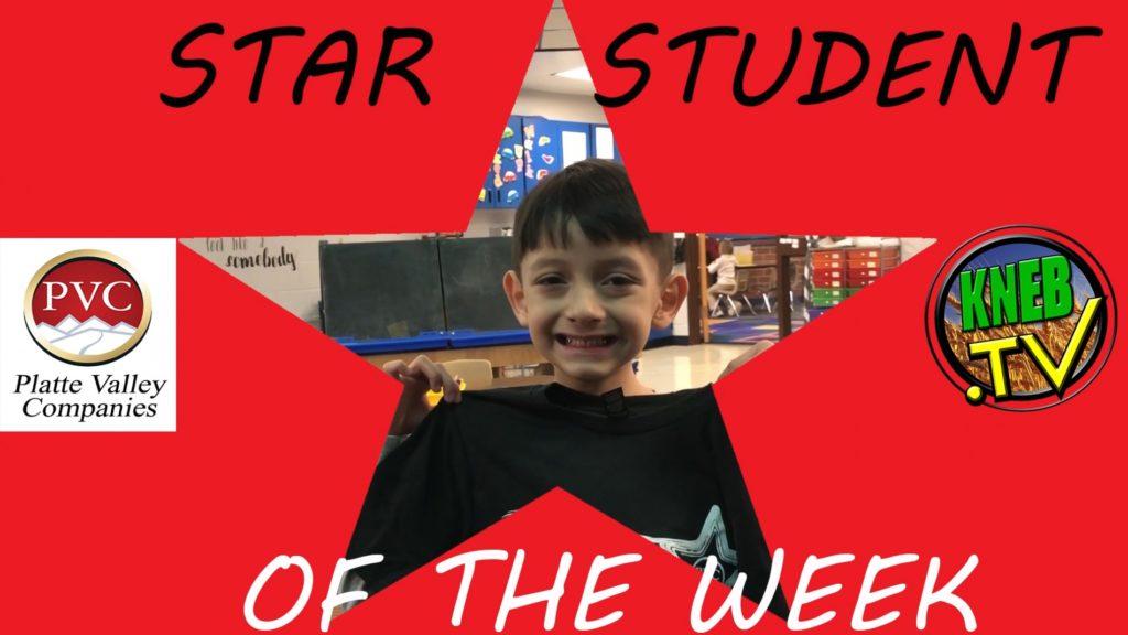Morrill Kindergartner Nikolas Rios Named PVC Star Student of the Week