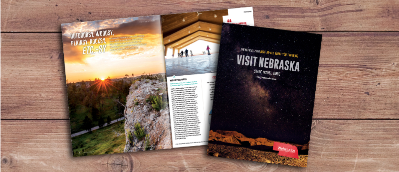 """""""Not-At-All What You Thought"""" Nebraska State Travel Guide available now"""