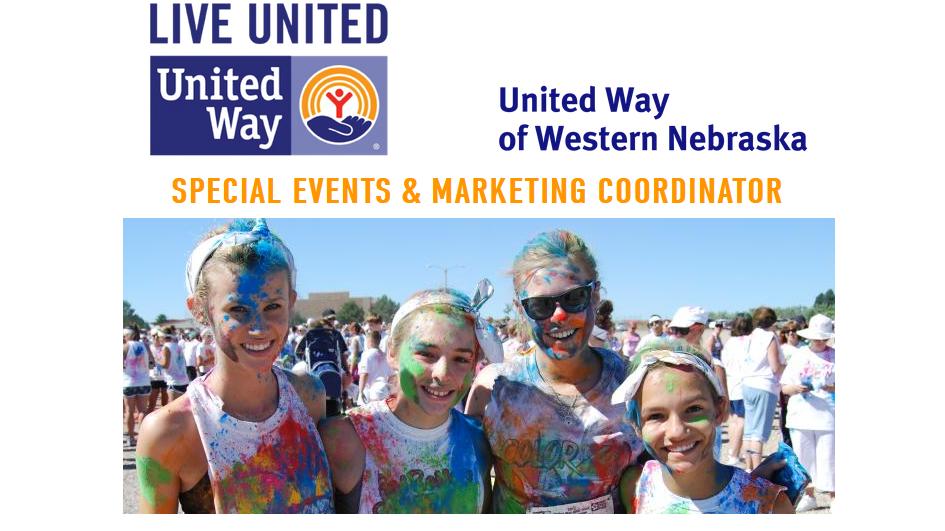 United Way of Western Nebraska Seeking New Special Events Coordinator