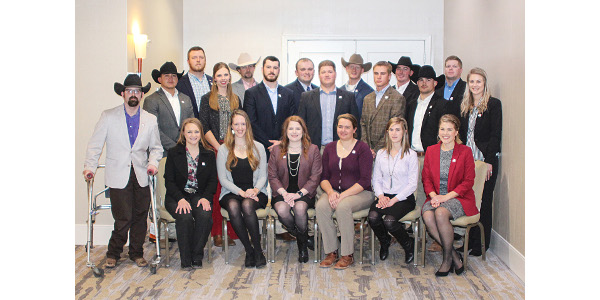Fourteenth class of Young Stockmen graduate
