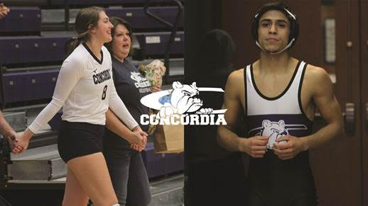 Noyd, Ybarra earn December Athlete of the Month honors