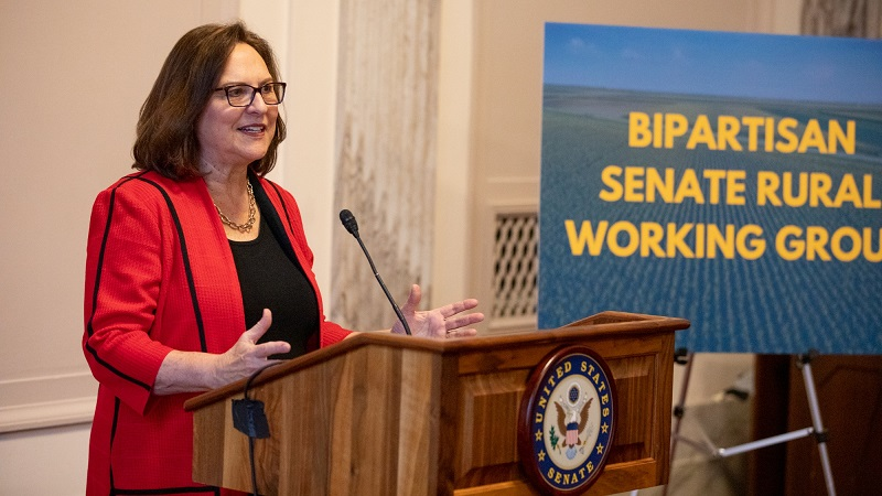 Sen. Fischer Helps Kick-off Bipartisan Rural Working Group