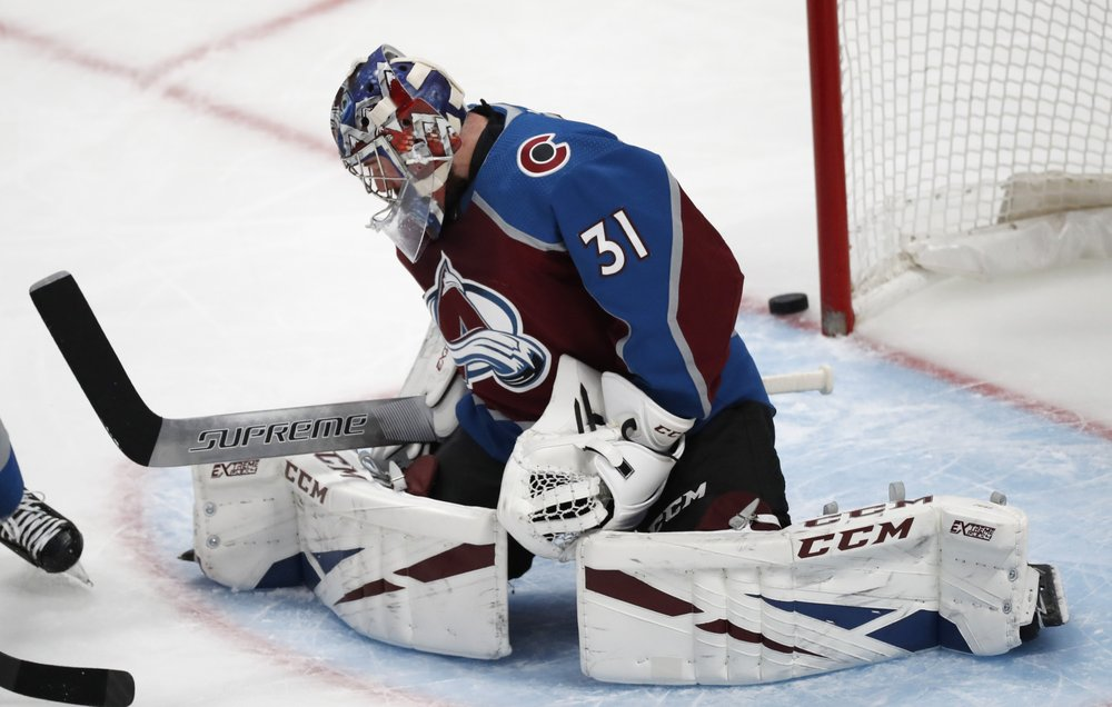 Rantanen, Grubauer lead Avalanche to 3-0 win over Senators