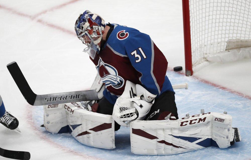 Rantanen, Grubauer lead Avalanche to 3-0 win over Senators