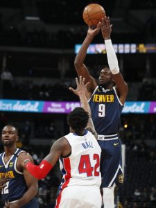 Grant scores career-best 29, Nuggets beat Pistons 115-98