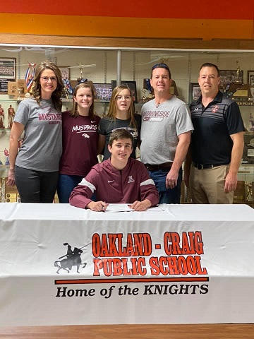 (AUDIO) Oakland Craig's Johnson signs with Morningside