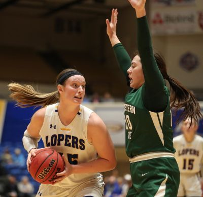 Lopers Move Into Second Place
